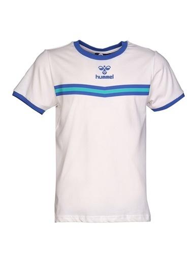 Hummel Çocuk Tişört Taigo 910937-9003 Beyaz